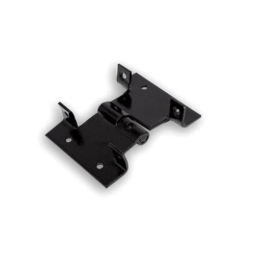 Dobradiça para Veneziana 10 cm - Cromatizado Preto - Embalagem Padrão