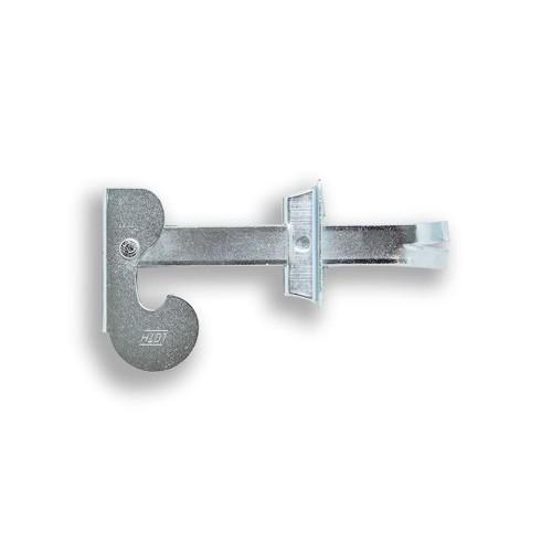Prendedor de Veneziana - Chumbar 4 cm - Zincado - Cartela Saco