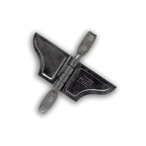 Borboleta para Janela - Aço Inoxidável - Cartela Blister