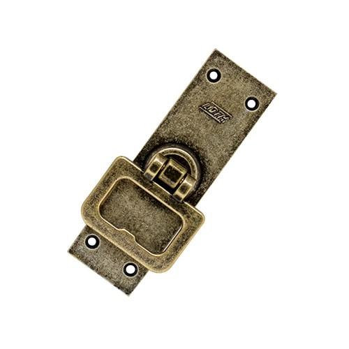 Cremona de Sobrepor para Janela - Ferro Ouro Velho - Embalagem Padrão