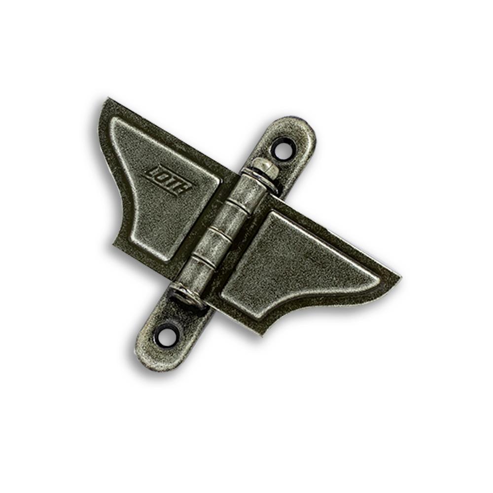 Borboleta para Janela - Ferro Ouro Velho - Embalagem Padrão
